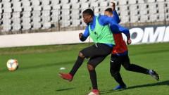 Ндонгала започна тренировки с Черно море, готов е за Ботев (Враца)