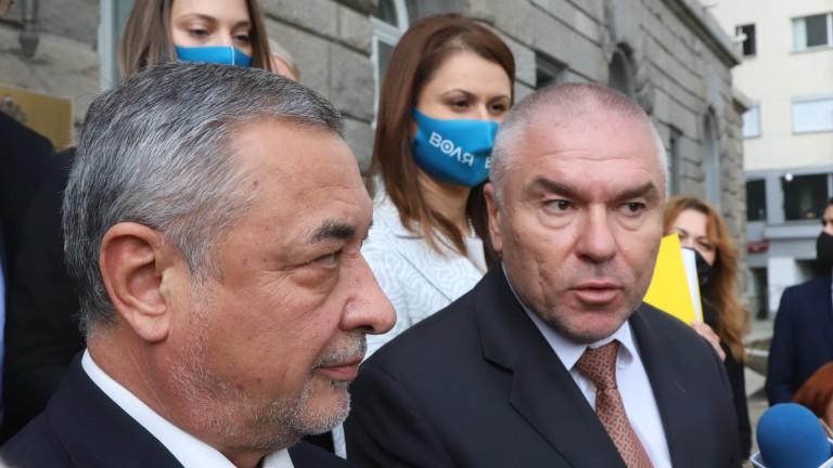 Патриотичната коалиция ВОЛЯ и НФСБ предложи на ЦИК да се