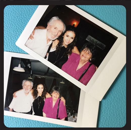 Нина Добрев показа снимки с баба си и дядо си в България