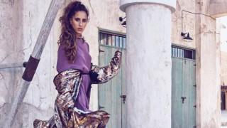 Първи модел от Саудитска Арабия на Седмицата на модата в Париж