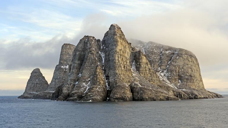 Какво се променя на остров Бафинова земя след 40 хиляди години