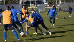 Левски тренира активно преди третата си контрола