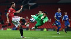 Манчестър Юнайтед се измъчи, но пречупи Брайтън