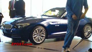 Новото BMW Z4 заснето без маскировка