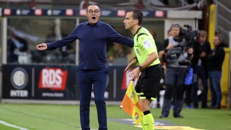 Сари: Срещу Локомотив трябва да запазим спокойствие през всички 90 минути
