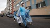 Починалите от коронавируса в Русия надхвърлиха 10 000