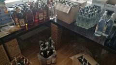 В крайморски хотели откриха близо хиляда бутилки фалшив алкохол
