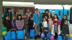 На 1 юни децата пътуват безплатно във влаковете на БДЖ