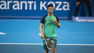 Димитър Кузманов победи финалиста от миналата седмица Педро Сакамото
