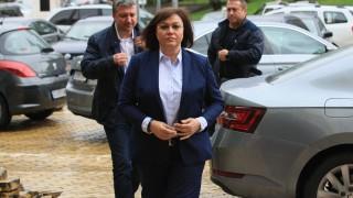 Борисов си измислял внушения, отсече Нинова