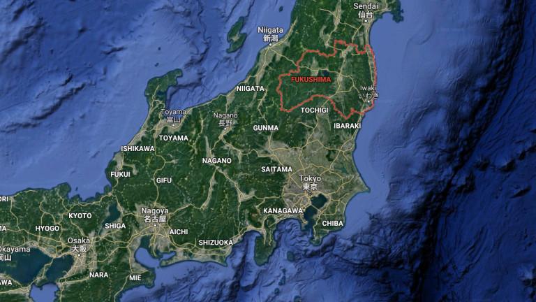 Земетресение от 6,4 удари Фукушима