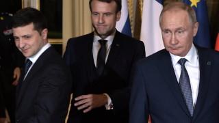 """Зеленски разказа за разговора си с Путин """"очи в очи"""""""