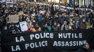 133 000 протестираха във Франция срещу полицейското насилие
