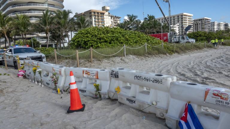 Идентифицираха всички жертви на рухналата сграда във Флорида