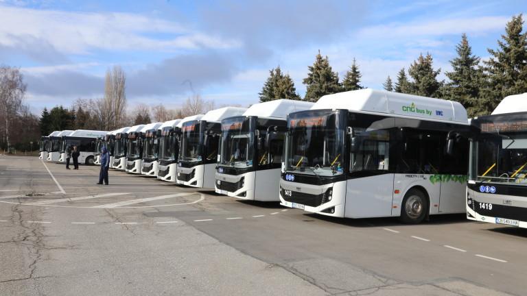 Нови автобуси тръгват по линиите на градския транспорт във Враца