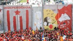 1 млн. каталунци поискаха независимост в Барселона