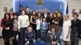 Министър Кралев награди медалистите от Европейските детски атлетически игри