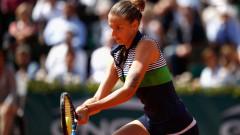 Каролина Плишкова наложи мощната си игра срещу Каролин Гарсия