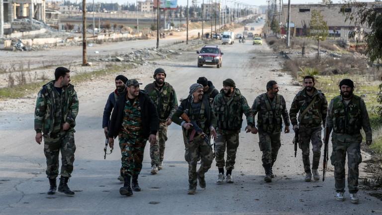 Отвориха магистралата Алепо-Дамаск за първи път от 8 г.