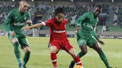 Нова загуба и поредни три гола във вратата на Лудогорец, шампионите остават без спечелена точка в Европа