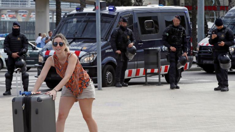 МВнР предупреждава за усложнена от протести обстановка в Барселона