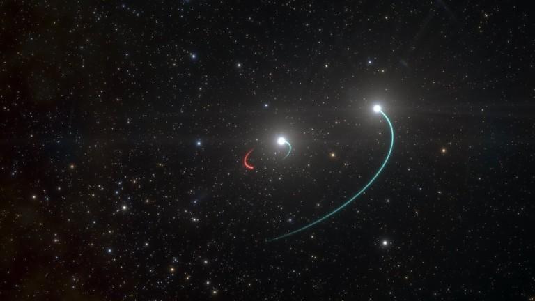 Астрономи съобщиха, че са открили черна дупка на нашия праг,