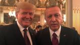 Тръмп и Ердоган говореха по телефона