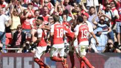 Арсенал се преклони пред Мохамед