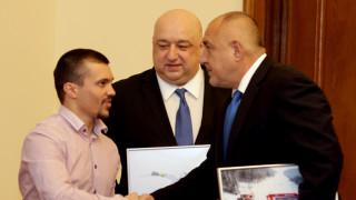 Борисов пожела още успехи на Алберт Попов