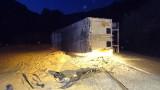Камион разпиля бира край село Бараково