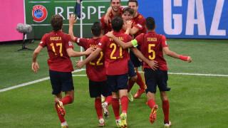 Испания прекъсна серията на Италия и се класира за финала на Лига на нациите