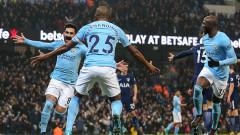 Манчестър Сити разби Тотнъм с 4:1 за 16-а поредна победа във Висшата лига