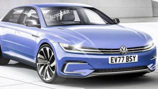 Volkswagen разработва конкурент на Tesla Model S