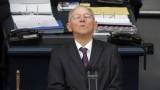 Волфганг Шойбле избран за председател на Бундестага
