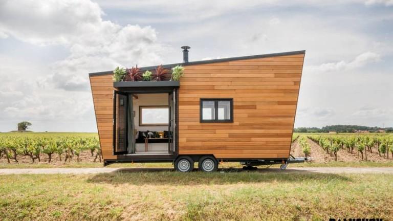 Модата на малките и мобилни домове е в разгара си,
