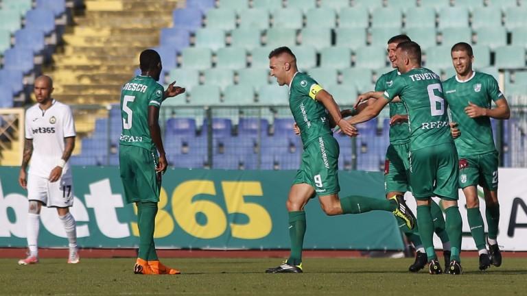 Мартин Камбуров заби своя гол №204 в Първа лига