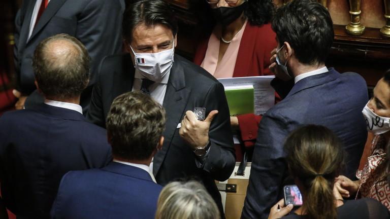 Италия пусна пакет от €25 млрд. в подкрепа на бизнеса и семействата