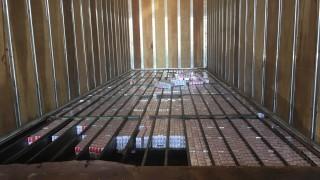 Солидно количество цигари без бандерол хванаха на ГКПП Кулата