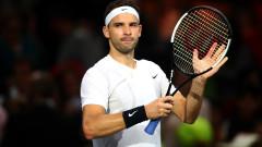 Григор Димитров победи Юго Юмбер в Париж и е на 1/16-финал