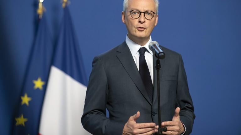 Френският финансов министър заяви, че настоящото напрежение в Близкия изток