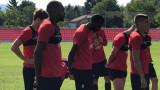 ЦСКА започна подготовката си за мача с Черно море