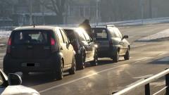 Един пострадал при верижна катастрофа в Благоевград