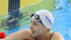 Катя Аврамова първа на 200 м. гръб в Барнет