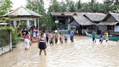 Над 130 души са загинали от тропическата буря Тембин във Филипините