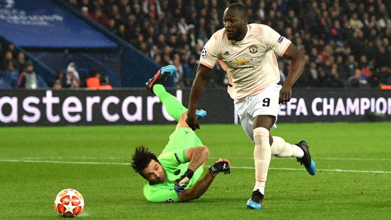 ПСЖ - Манчестър Юнайтед 1:3, вижте развоя на срещата по минути!