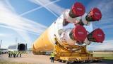 НАСА започва да изпитва мегаракетата си
