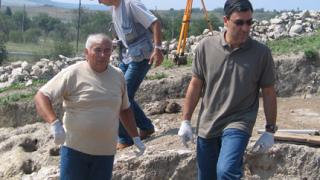 Вълчев посети разкопки в Провадия
