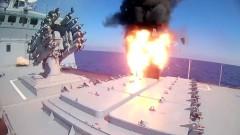 Руска фрегата в Средиземно море удари ДАЕШ с крилати ракети