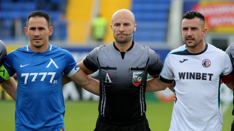Етър ще бъде без своя капитан за мача срещу Черно море