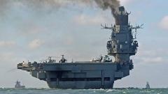 Пожар на единствения самолетоносач на Русия